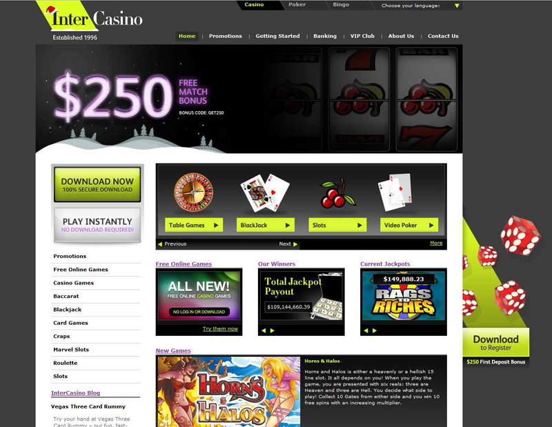 card casino gaming online top