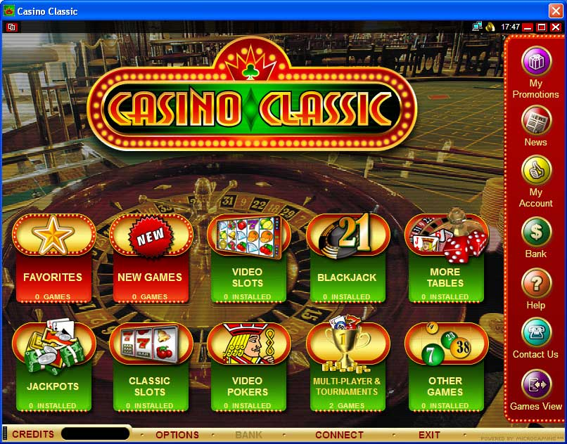 Classic casino online hotel and casino resort