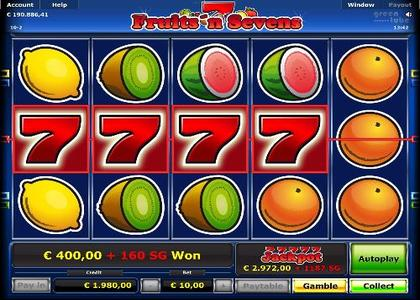 Fruits and Sevens Stargames